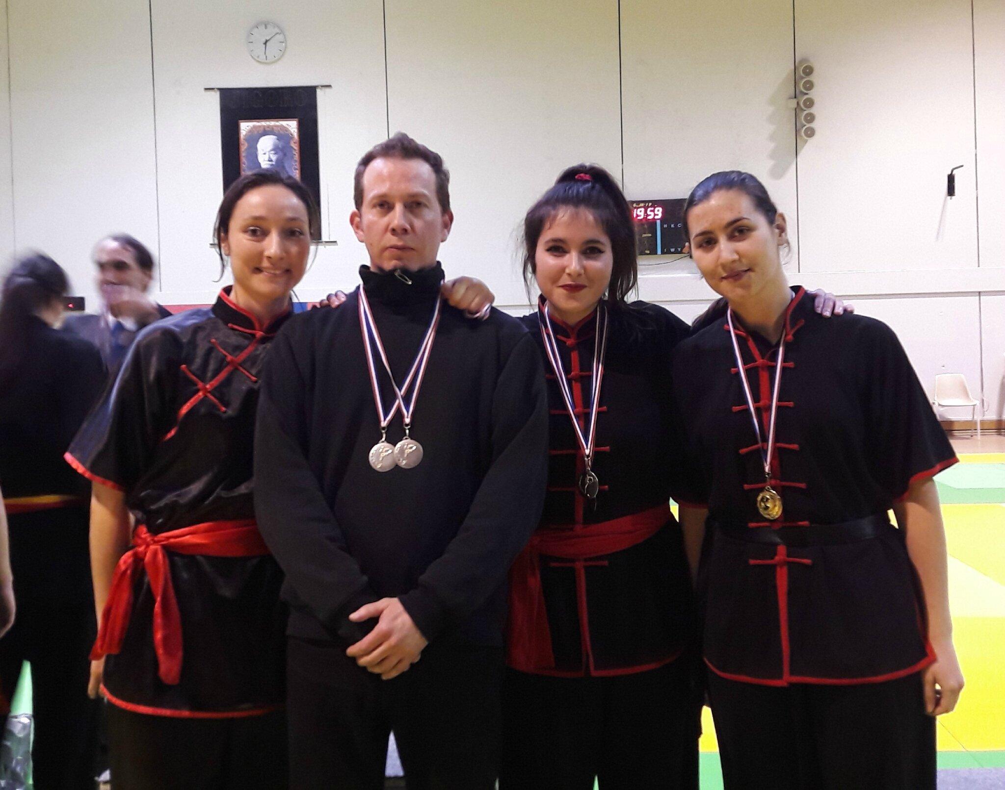 Equipe Kung Fu et Tai Chi du Sansao