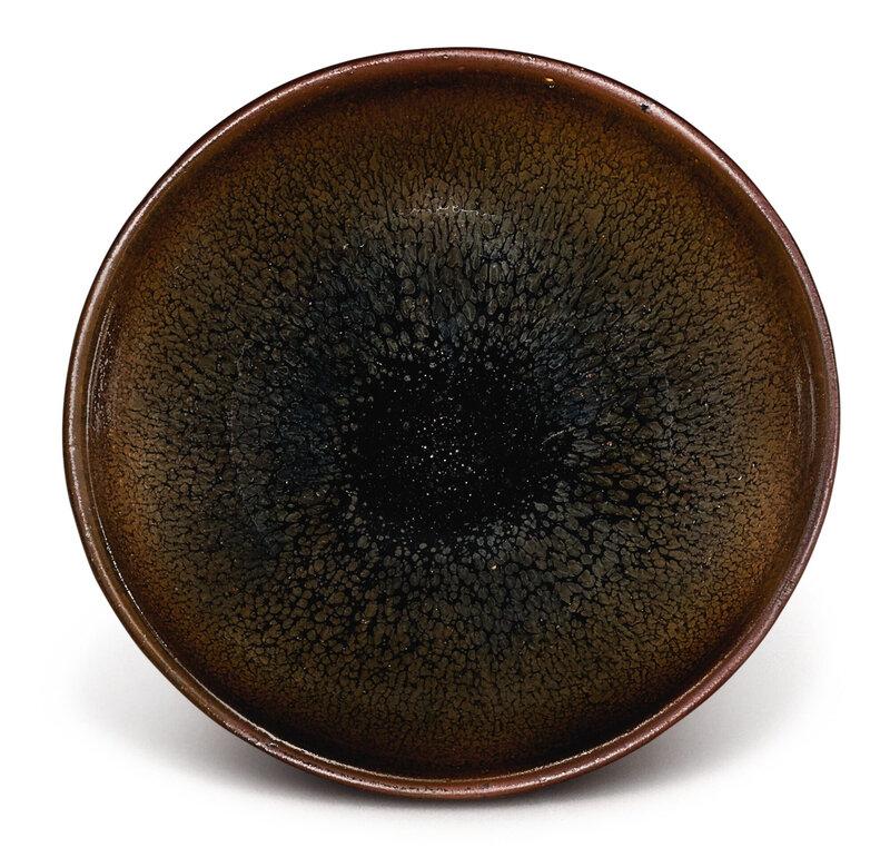 A small Jian 'hare's fur' tea bowl, Southern Song dynasty (1127–1279)