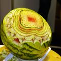 Sculture sur fruit