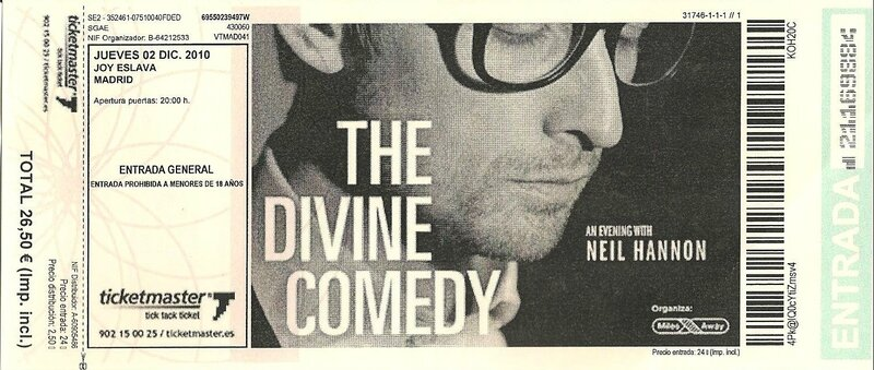 2010 12 The Divine Comedy Joy Eslava