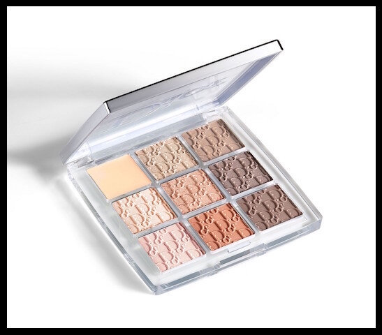 dior backstage eye palette warm neutrals 1