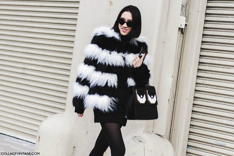 New_York_Fashion_Week-Fall_Winter_2015-Street_Style-NYFW-Eva_Chen_Black_And_White_Fur_Coat-1-790x527