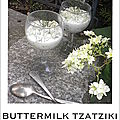 Buttermilk tzatziki