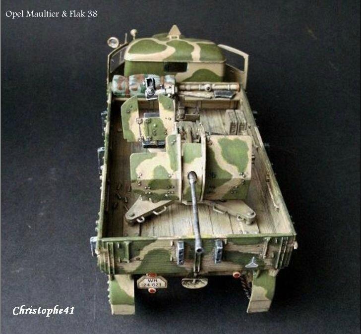 Opel Maultier avec Flak 38 - PICT2873
