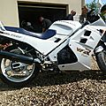 Stephane alias Pouscoot Honda 750 VFR