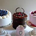 Pâtisseries pour Ô Gout thé, salon de thé