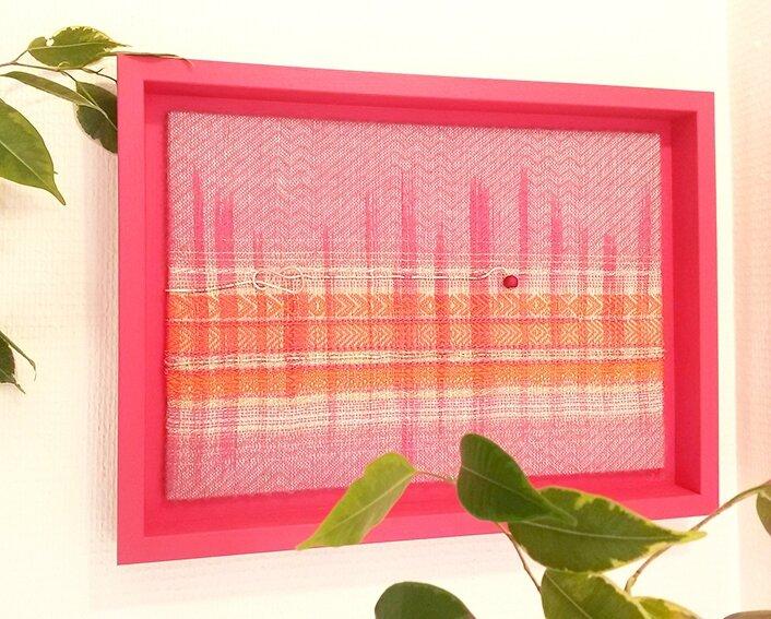 tableau textile tissage zrak 2