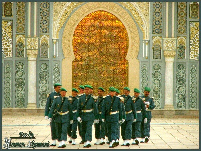 Garde Royale Palais de Fés