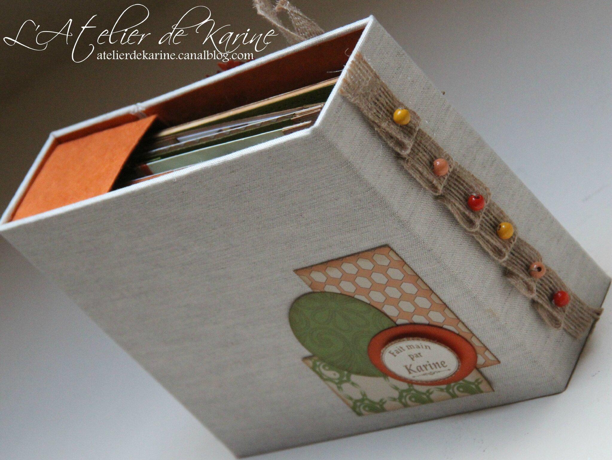 Mini Album et son coffret - Pure Lorelaïl Design 2