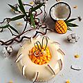 Tarte coco mango