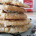 cookies aux pépites de beurre de cacahuète