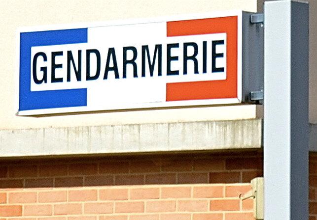 GENDARMERIE PANNEAU 2015