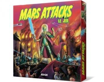 Boutique jeux de société - Pontivy - morbihan - ludis factory - Mars attacks !