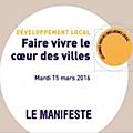 Faire vivre le cœur des villes - les propositions de villes de france !