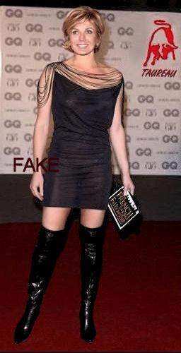 Evelyne Dhéliat, robe transparente