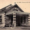 06 Caen, Quartier Claude Decaen, les cuisines, vers 1920