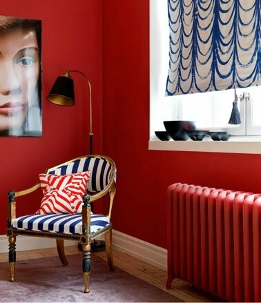 decoration-salon-couleur-rouge-bleu-noir