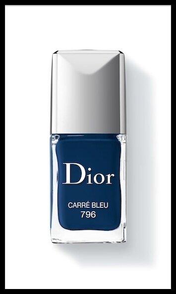 dior vernis carre bleu