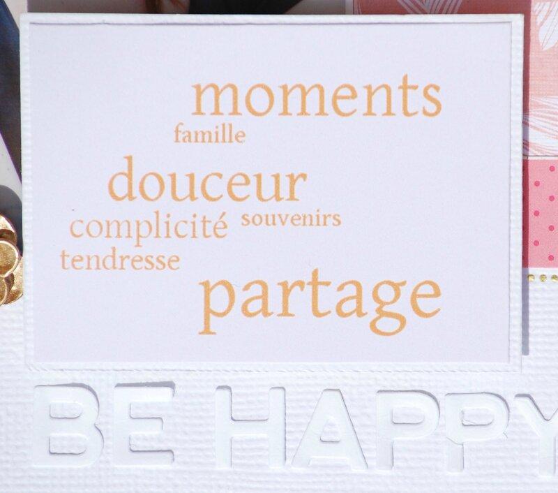 Be happy - détail