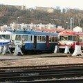 X 4630 & X 2800 en fin de vie au dépôt de Lyon-Vaise