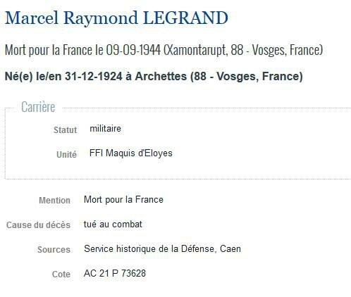 Legrand MR