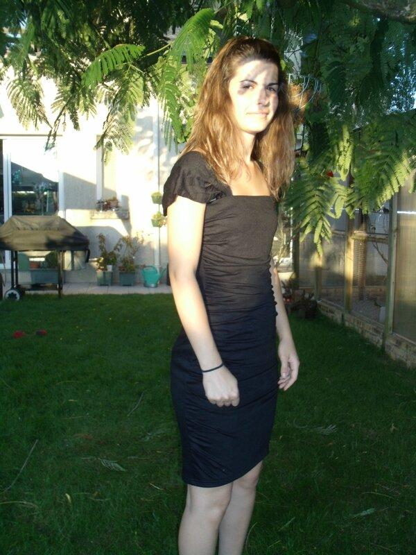 robe noire gaëlle (6)