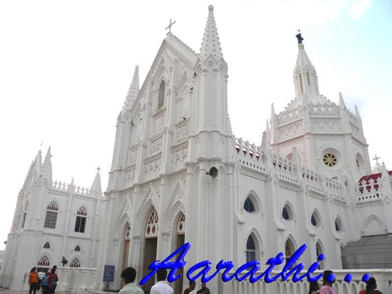 Velankanni Church Side View