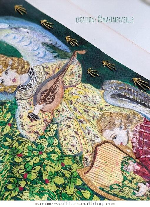 Ange de la Vierge au Buisson de rose 4 - création ©Marimerveille