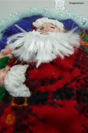 santa claus embroidered