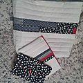 Assorties au sac, les pochettes