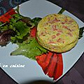 crque quiche saumon crevette
