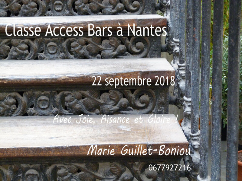 Classe Access Bars 22 sept 2018