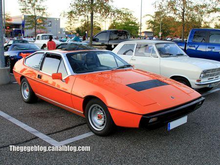 Lotus eclat (1975-1982)(Rencard Burger King septembre 2012) 01