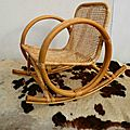 Rocking chair enfant prix 60€ superbe rocking