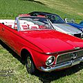 Valiant convertible-1963 (version canadienne, assemblage suisse)