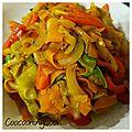 Pôelée de légumes au soja