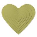 Framelits coeur