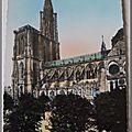 Strasbourg - la cathédrale - datée 1955