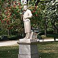 Statue du jardin du Grand Rond