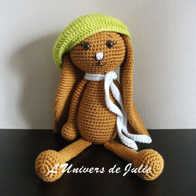 Ally Alistair le lapin Crochet de Pandore L'univers de Julie Blog