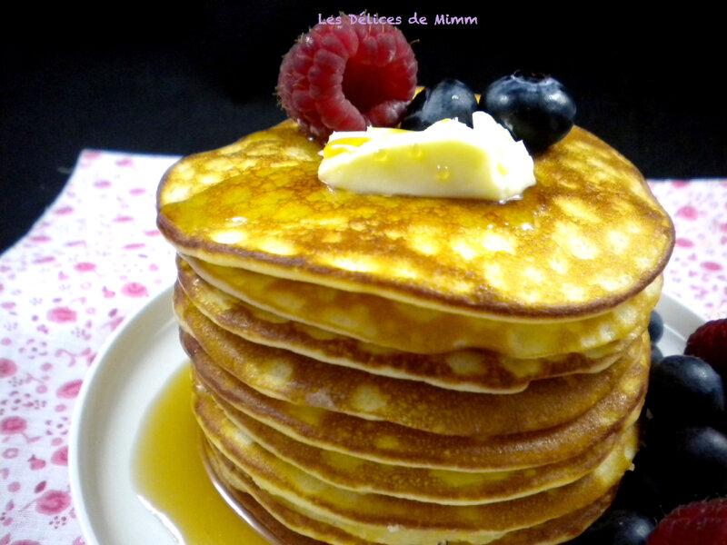 Pancakes super moelleux comme aux U