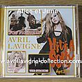 CD promotionnel Hit's A Sony/What The Hell-Japon (avril 2011)