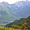 Le cirque d'Accous et la vallée d'Aspe...
