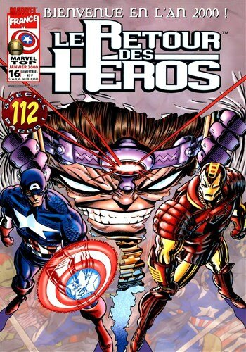 marvel top V1 16 retour des héros captain america iron man
