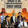 Deux concerts country-folk en bretagne