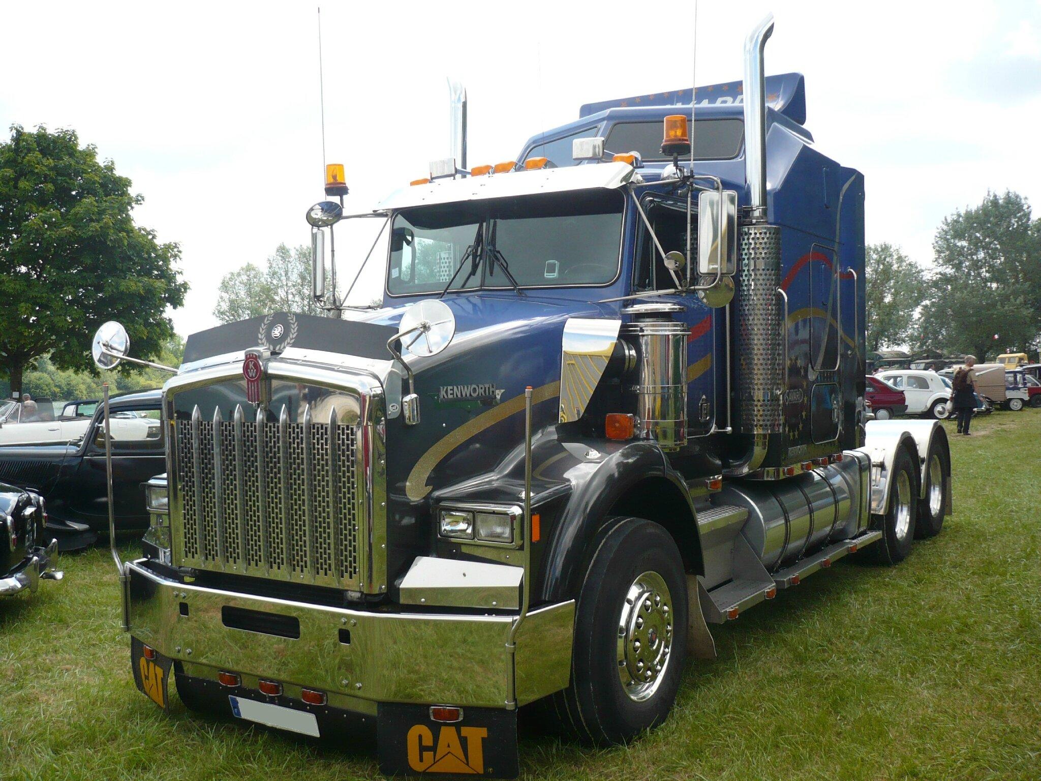 KENWORTH T800 des Transports Savard à Avril 54150 Madine (1)