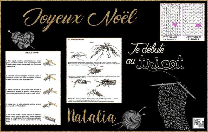 Carte Noël Natalia 2016