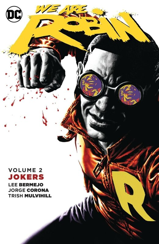 new 52 we are robin vol 2 jokers