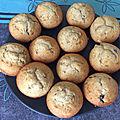 Muffins chocolat banane (thermomix)