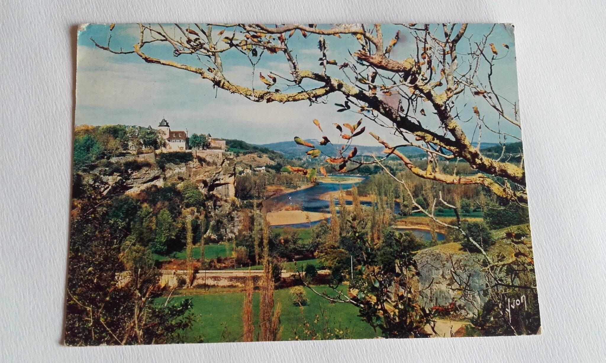 Belcastel le chateau datée 1970